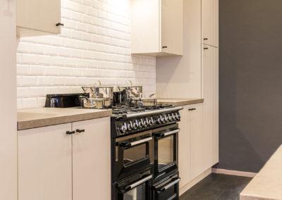Keuken landelijk, wit