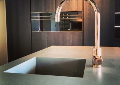 Keukenkraan KVR Techno, roze goud