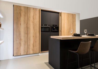 Modern Zwart Keuken : Keuken meubelen modern vertommen