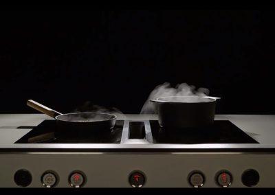 Kookplaat met dampkap Bora