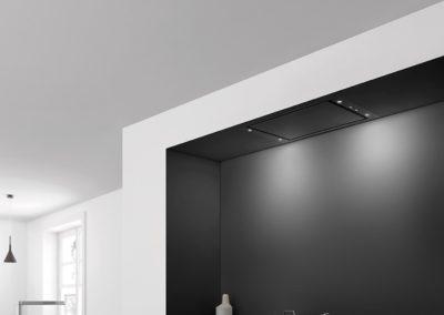 Dampkap Novy Pureline Compact zwart - Premium Line