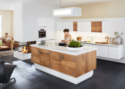 Keuken modern, model Montana, hout