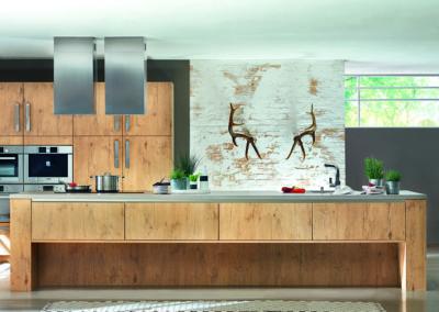Keuken modern, model Top, hout