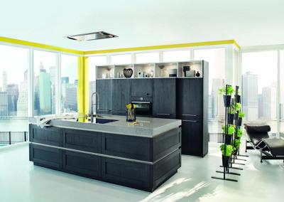 Keuken modern, model Frame, kaderdeur