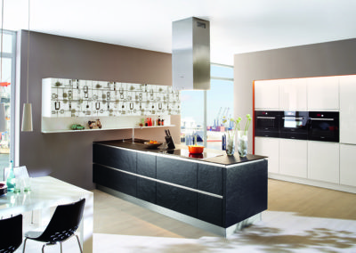 Keuken modern, greeploos, model Stone
