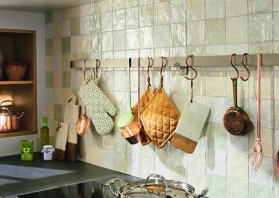 Keuken landelijk, model Sofie, kaderdeur gelakt