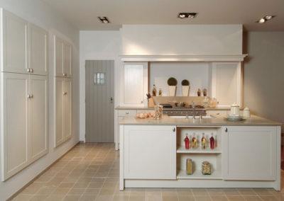 Keuken landelijk, kaderdeur