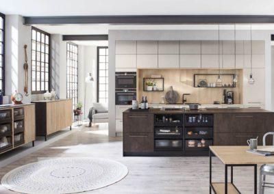 keuken in betonlook