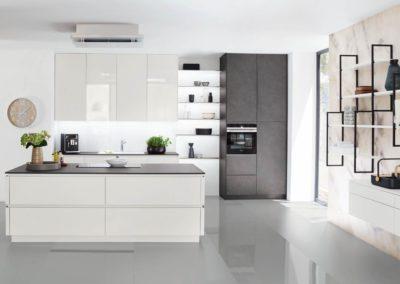 keuken edition wit / zwart